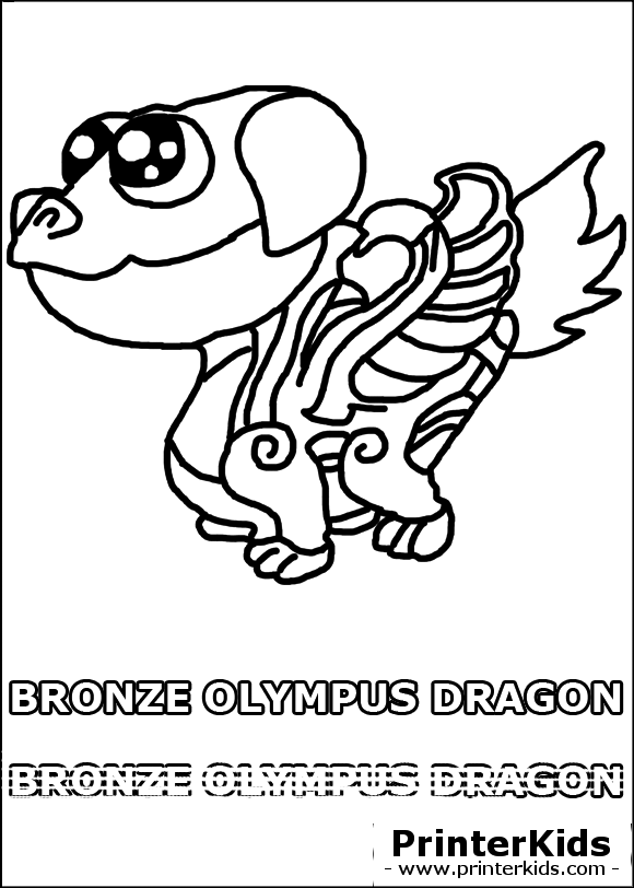 dragon vale free coloring pages
