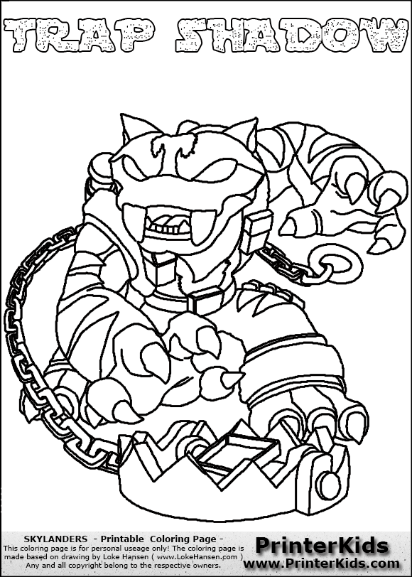 skylander food fight coloring pages - photo#10